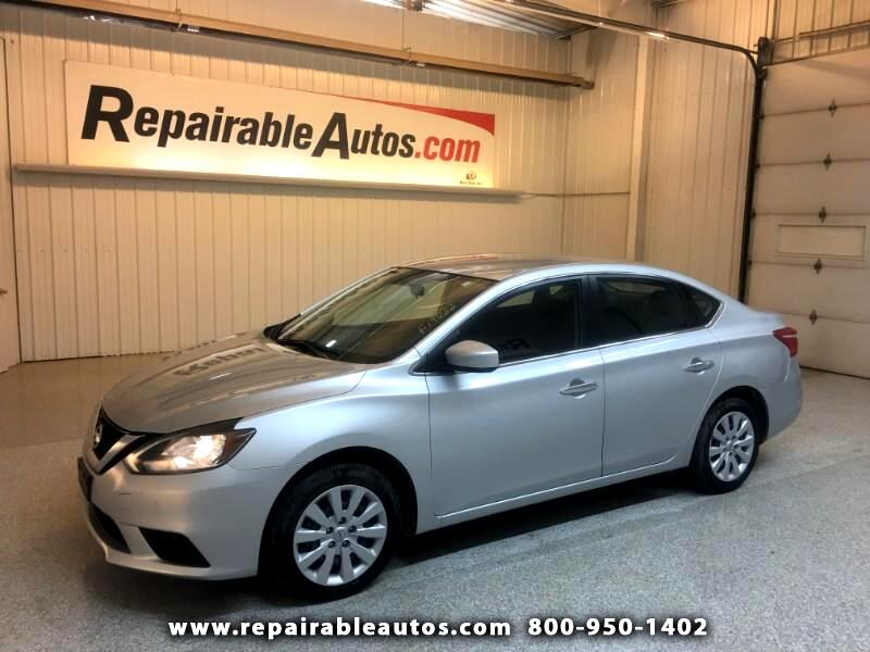 2017 Nissan Sentra S Repairable Hail Damage