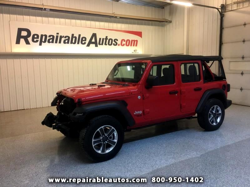 2018 Jeep Wrangler Unlimited Repairable Front Damage
