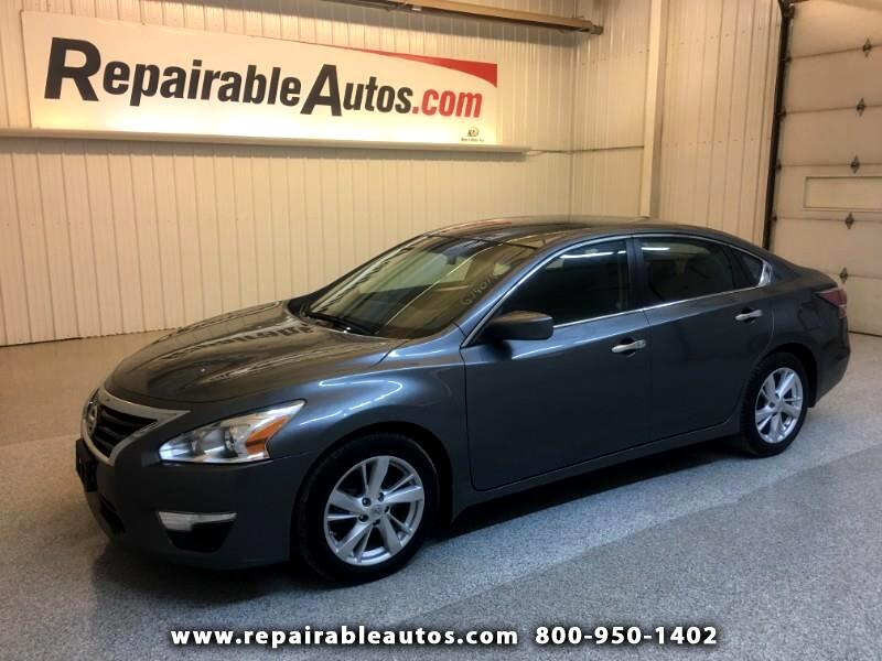 2014 Nissan Altima 2.5 SV Repairable Hail Damage