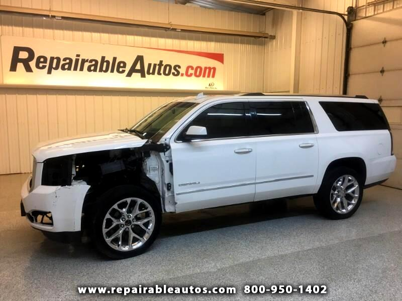 2019 GMC Yukon XL Denali 4WD Repairable Front Damage