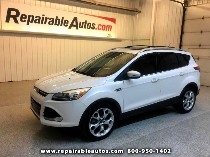 2014 Ford Escape Titanium FWD Repairable Hail Damage