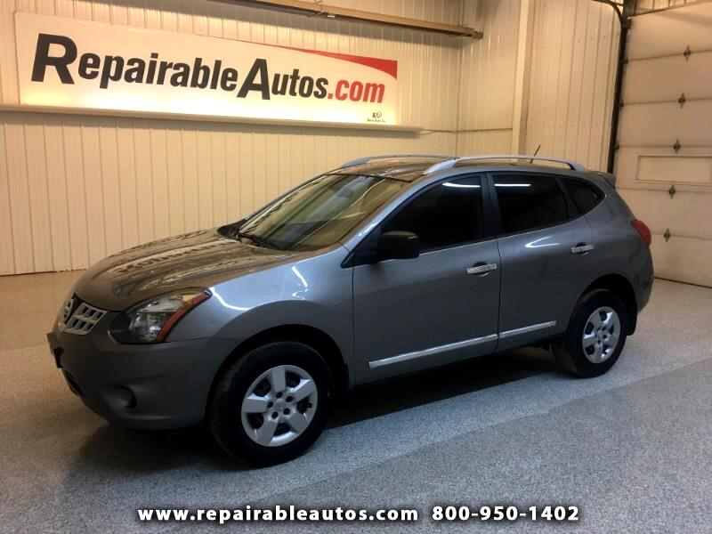 2014 Nissan Rogue Select 2WD Repairable Hail Damage