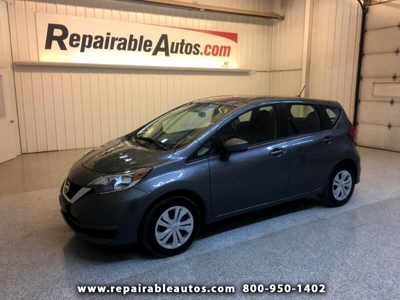 2017 Nissan Versa Note SV Repairable Hail Damage