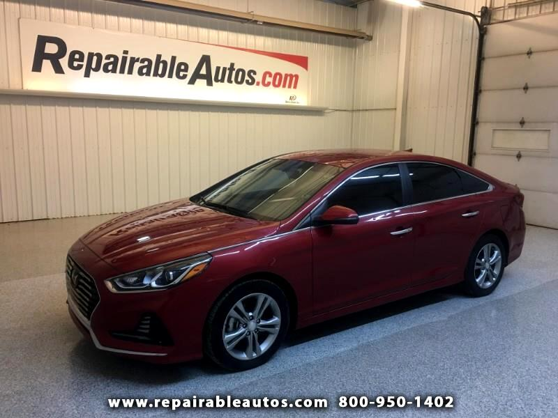 2018 Hyundai Sonata Sport Repairable Hail Damage