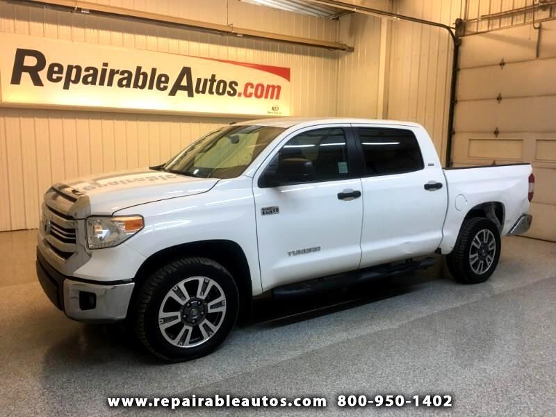 2017 Toyota Tundra SR5 4WD Repairable Rear Damage