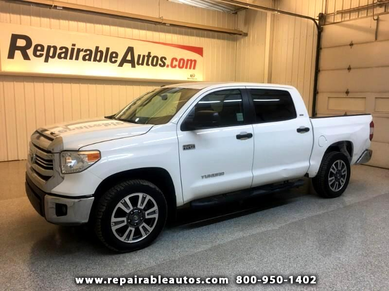 2017 Toyota Tundra SR5 4WD Repairable Rear Damage