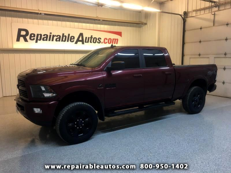 2017 RAM 2500 Crew Cab 4WD Repairable Rear Damage