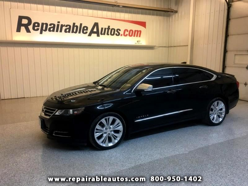2017 Chevrolet Impala Premier Repairable Rear Damage