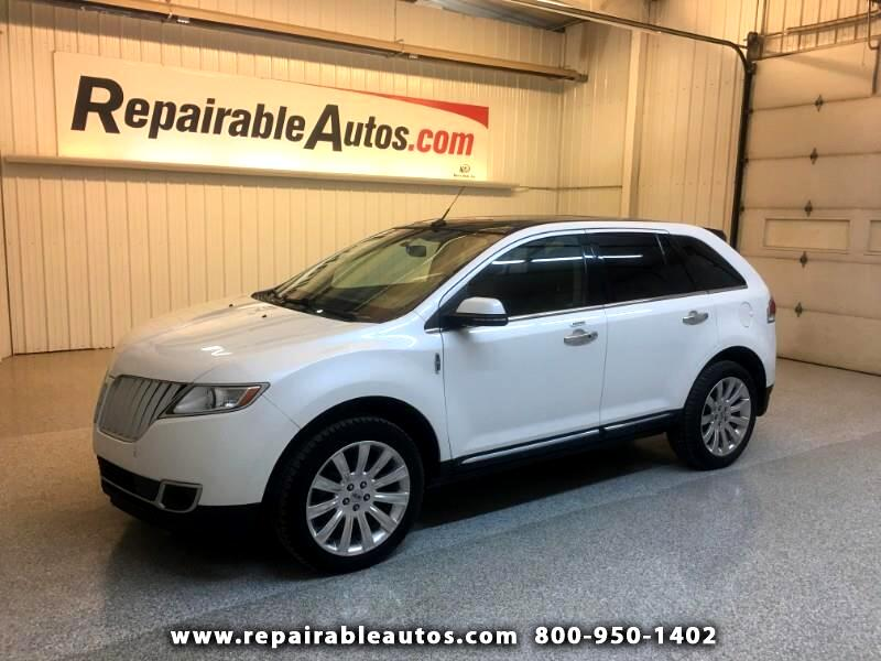 2013 Lincoln MKX FWD Repairable Front Damage
