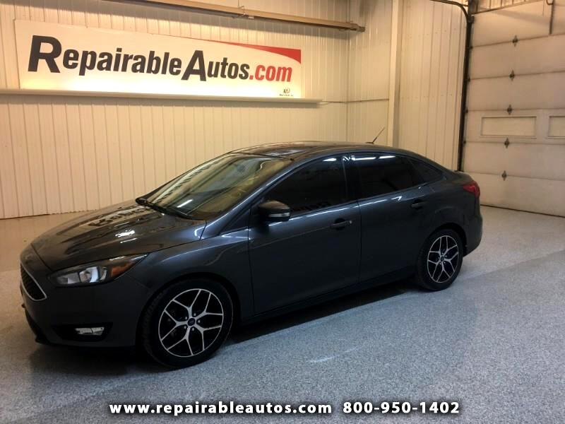 2017 Ford Focus SEL Repairable Hail Damage