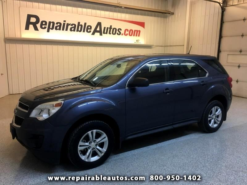 2013 Chevrolet Equinox LS 2WD Repairable Hail Damage