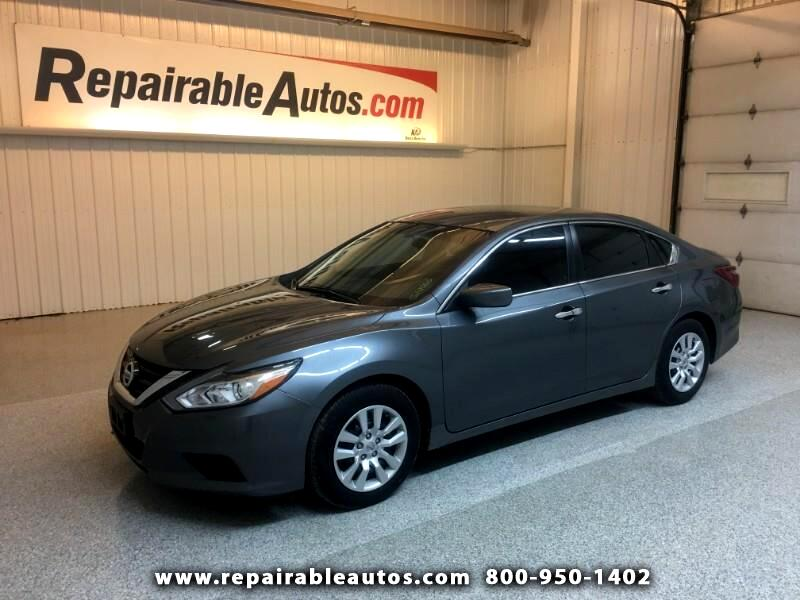 2018 Nissan Altima Repairable Hail Damage