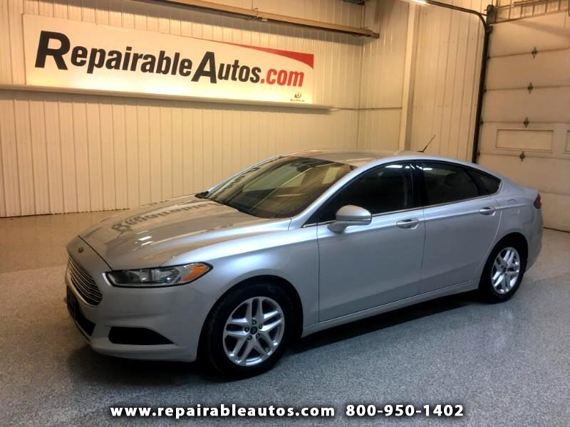 2013 Ford Fusion SE Repairable Hail Damage
