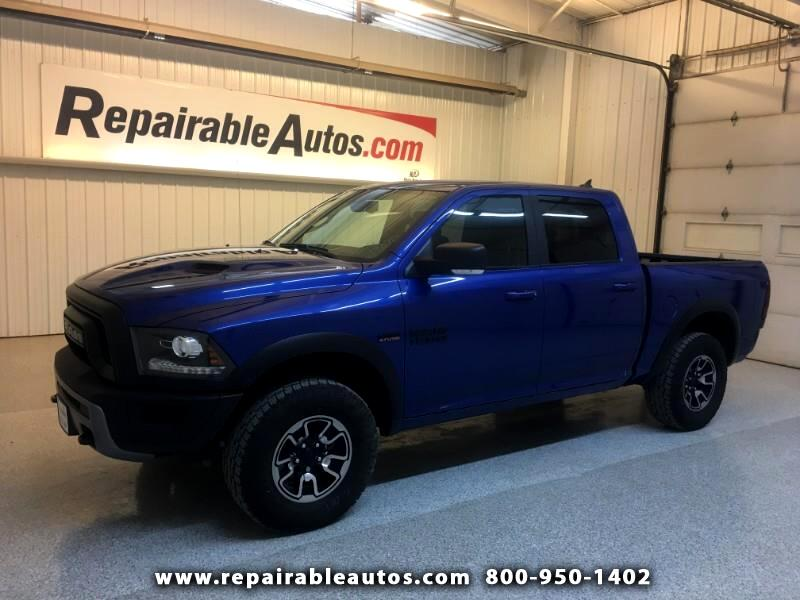 2018 RAM 1500 Rebel 4WD Repairable Rear Damage