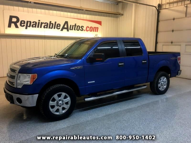 2013 Ford F-150 XLT 4WD Repairable Hail Damage