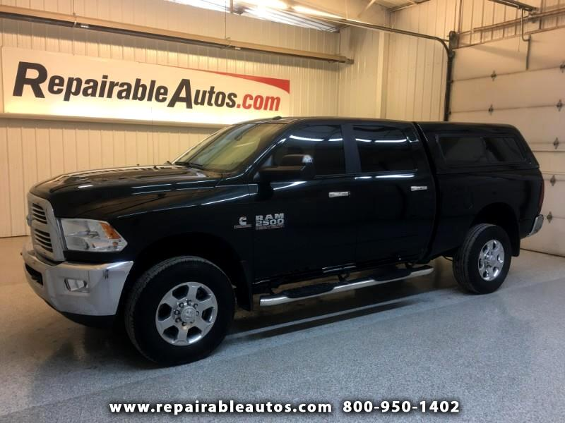2018 RAM 2500 Crew Cab Big Horn Edt Repairable Misc Damage