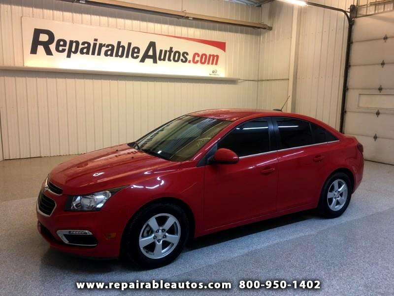 2016 Chevrolet Cruze Limited LT Repairable Hail Damage