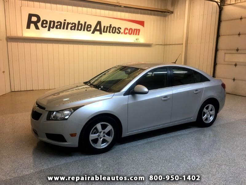 2014 Chevrolet Cruze LT Repairable Hail Damage