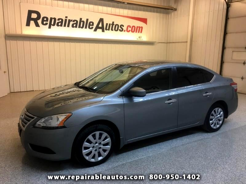 2013 Nissan Sentra SV Repairable Minimal Hail Damage
