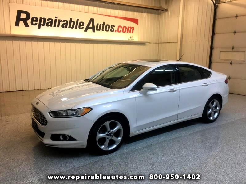 2014 Ford Fusion Repairable Hail Damage