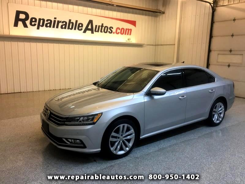 2018 Volkswagen Passat Repairable Hail Damage