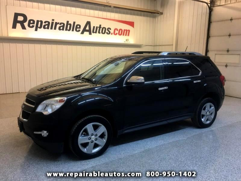 2015 Chevrolet Equinox LTZ FWD Repairable Hail Damage