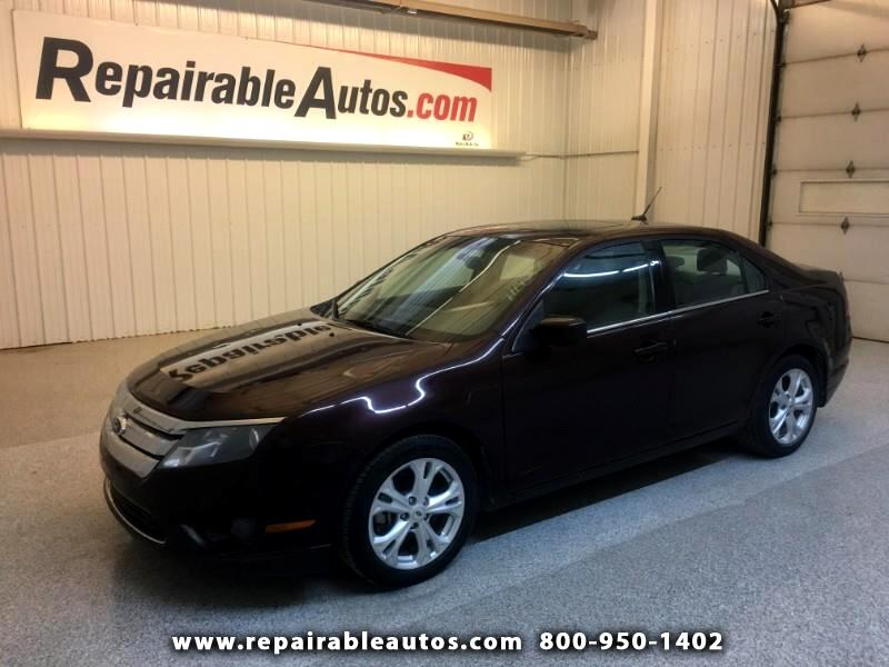 2012 Ford Fusion SE Repairable Hail Damage