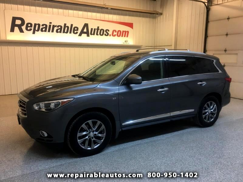 2015 Infiniti QX60 AWD Repairable Hail Damage