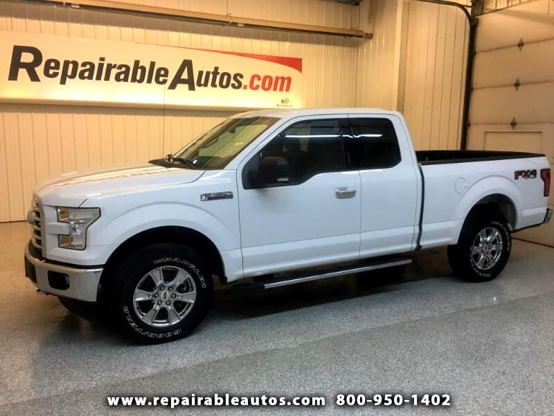 2017 Ford F-150 XLT Repairable Rear Damage