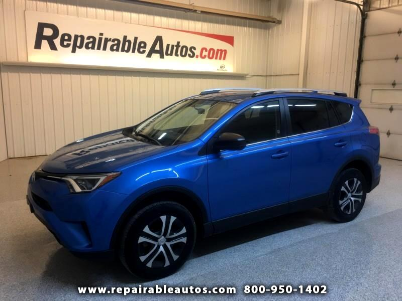 2016 Toyota RAV4 LE FWD Repairable Hail Damage