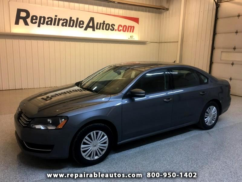 2014 Volkswagen Passat Repairable Hail Damage