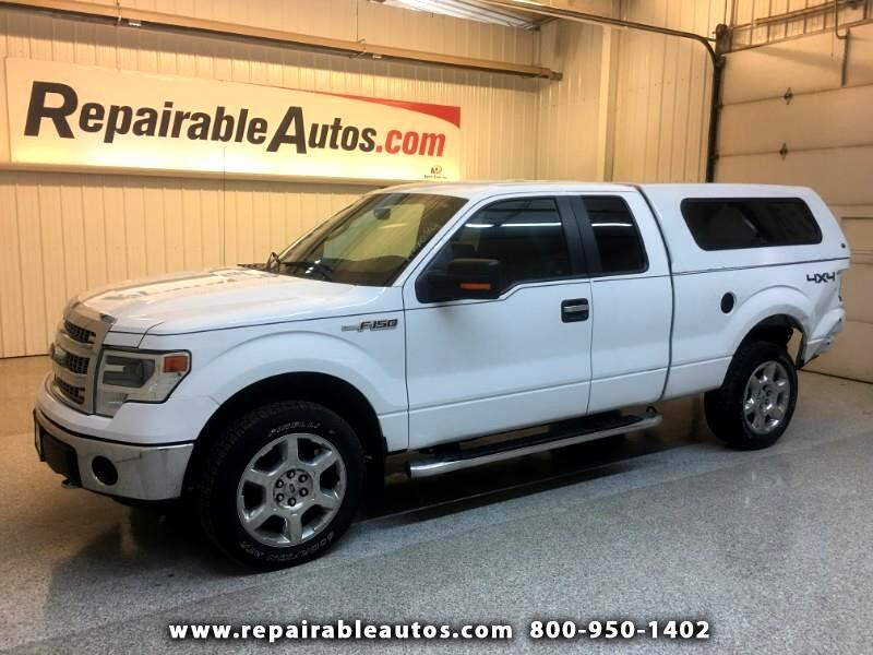 2014 Ford F-150 XLT 4WD Repairable Rear Damage