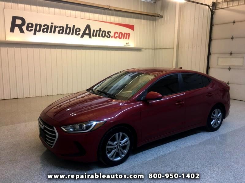 2017 Hyundai Elantra Repairable Hail Damage