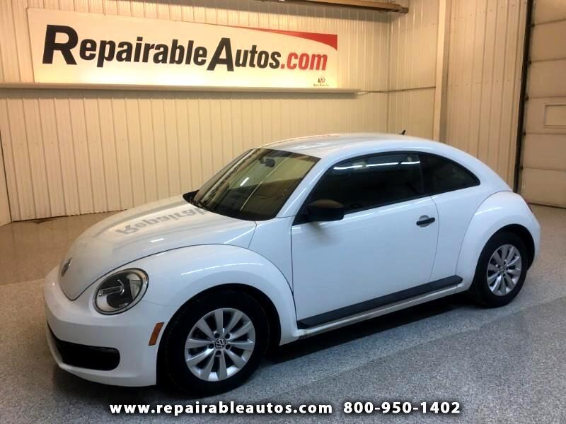 2014 Volkswagen Beetle Repairable Hail Damage