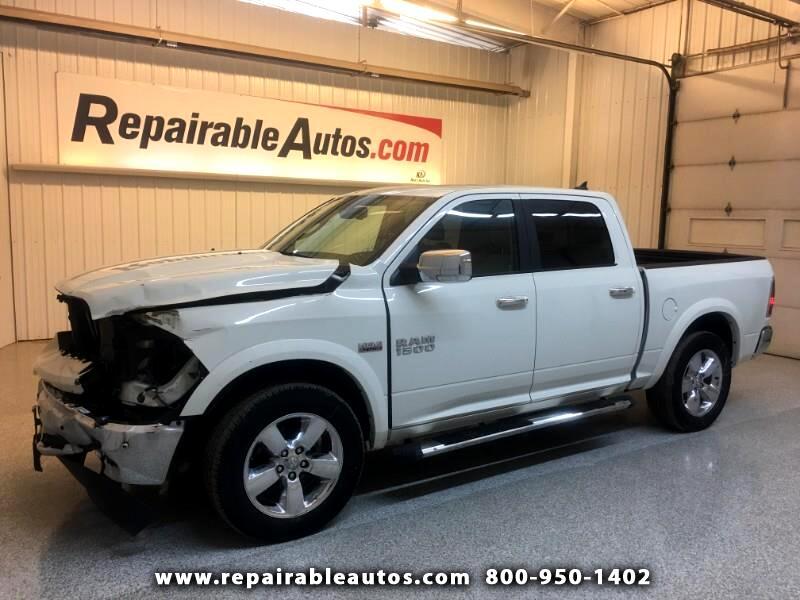 2018 RAM 1500 Laramie 4WD Repairable Front Damage