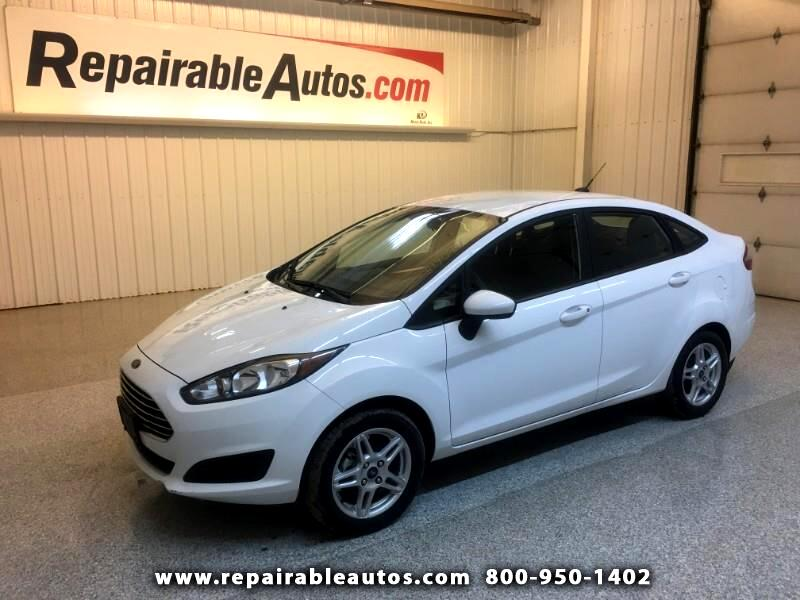 2018 Ford Fiesta SE Repairable Hail Damage