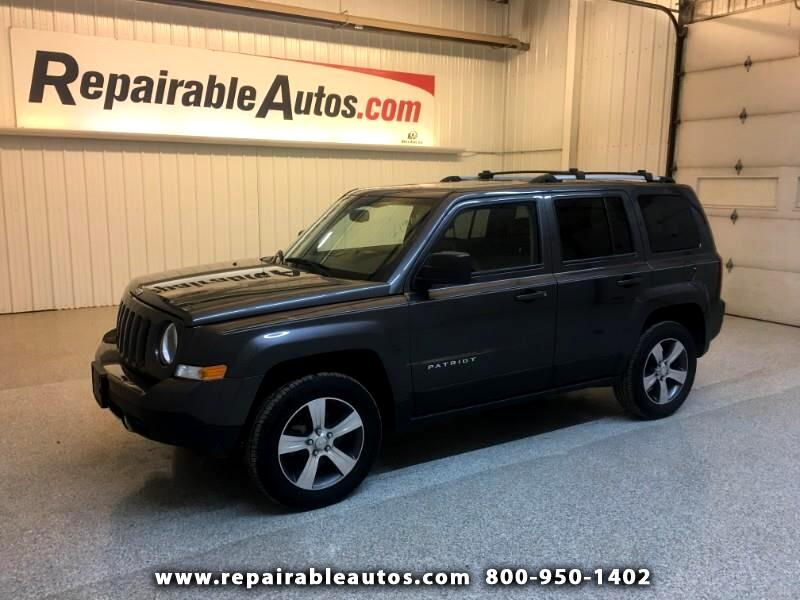 2016 Jeep Patriot Latitude 4WD Repairable Water Damage
