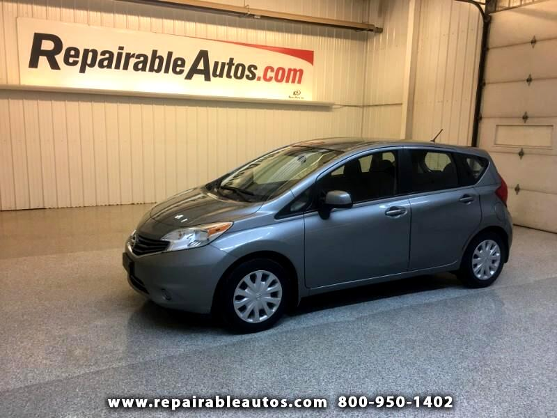 2014 Nissan Versa Note SV Note Repairable Hail Damage