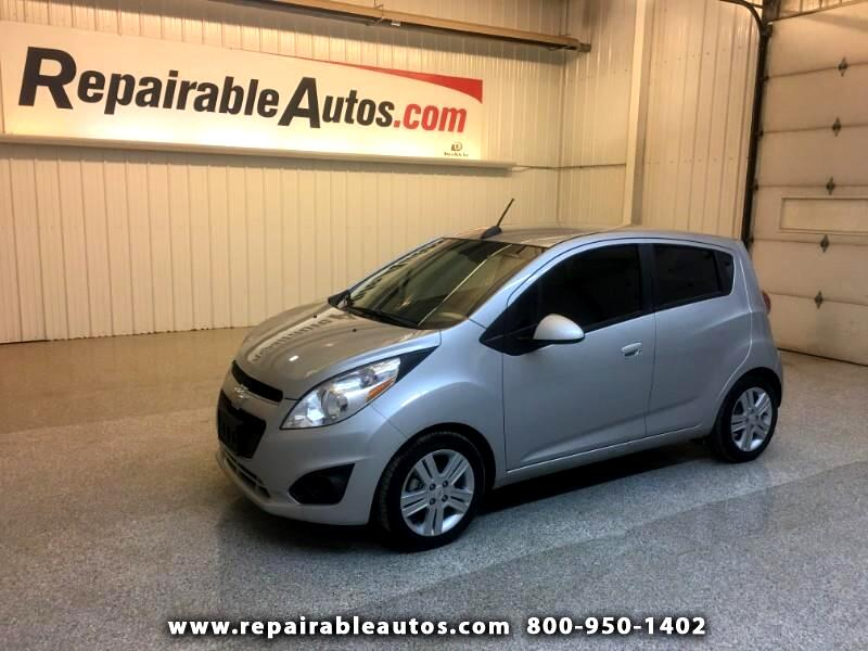2015 Chevrolet Spark Repaired Collision/Water Damage