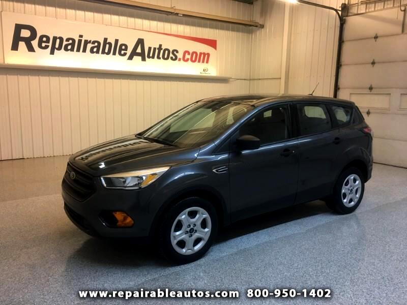 2017 Ford Escape FWD Repairable Roof Damage