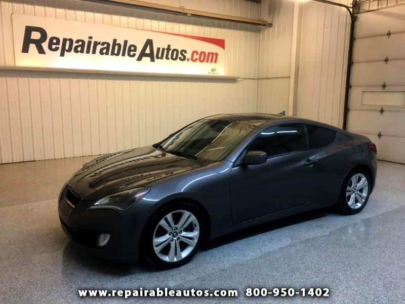 2012 Hyundai Genesis Coupe Repairable Hail Damage