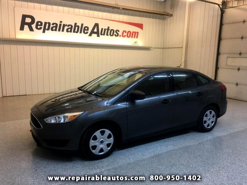 2018 Ford Focus Repairable Hail Damage