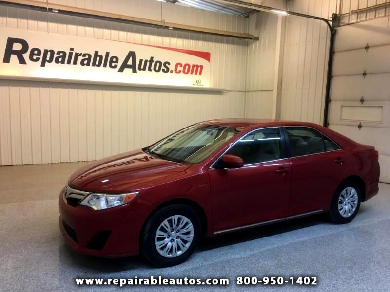 2014 Toyota Camry LE Repairable Hail Damage