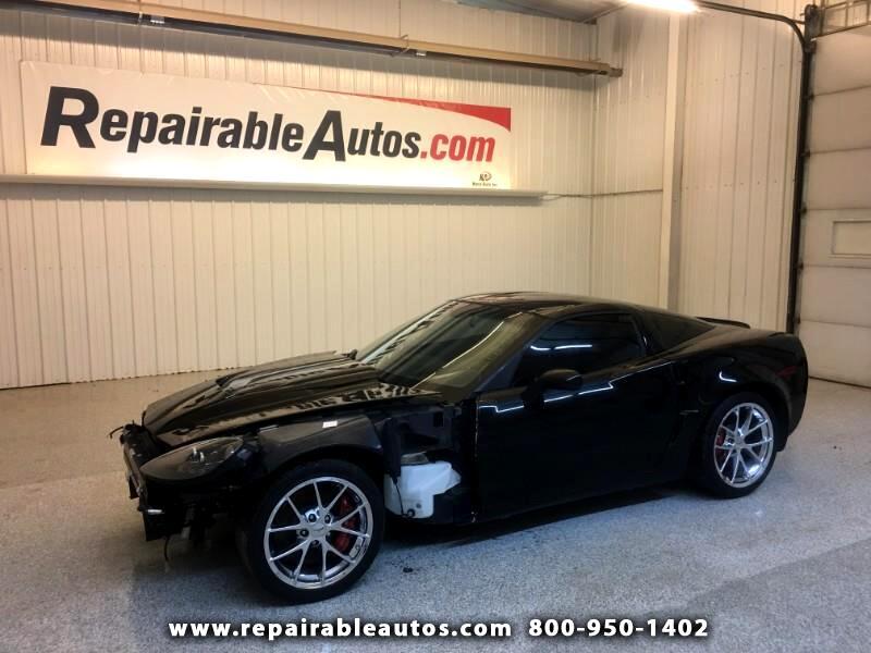 2011 Chevrolet Corvette Z06 Repairable Front Damage