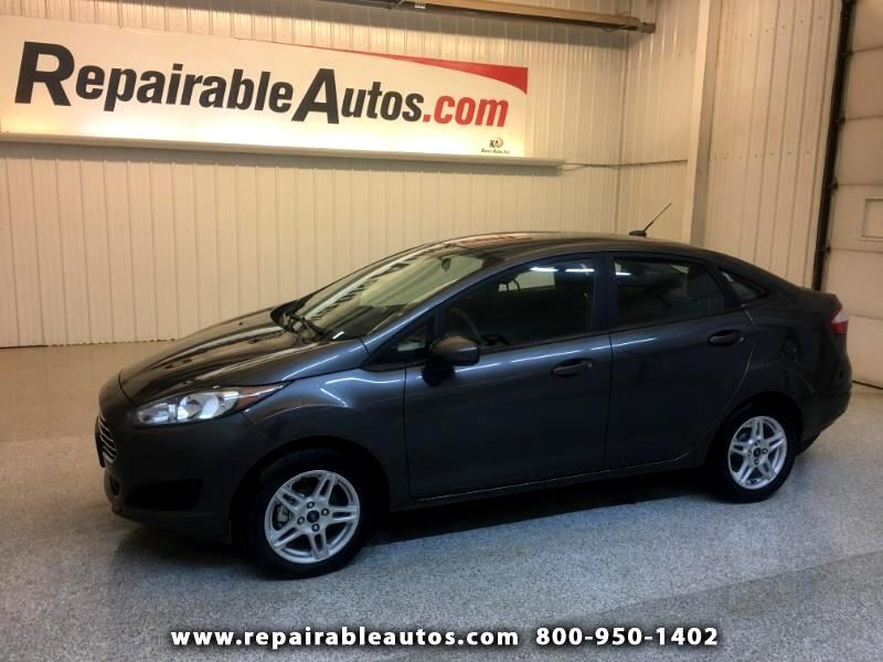 2018 Ford Fiesta SE Repairable Water Damage