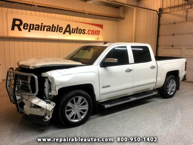 2014 Chevrolet Silverado 1500 4WD Repairable Front Damage