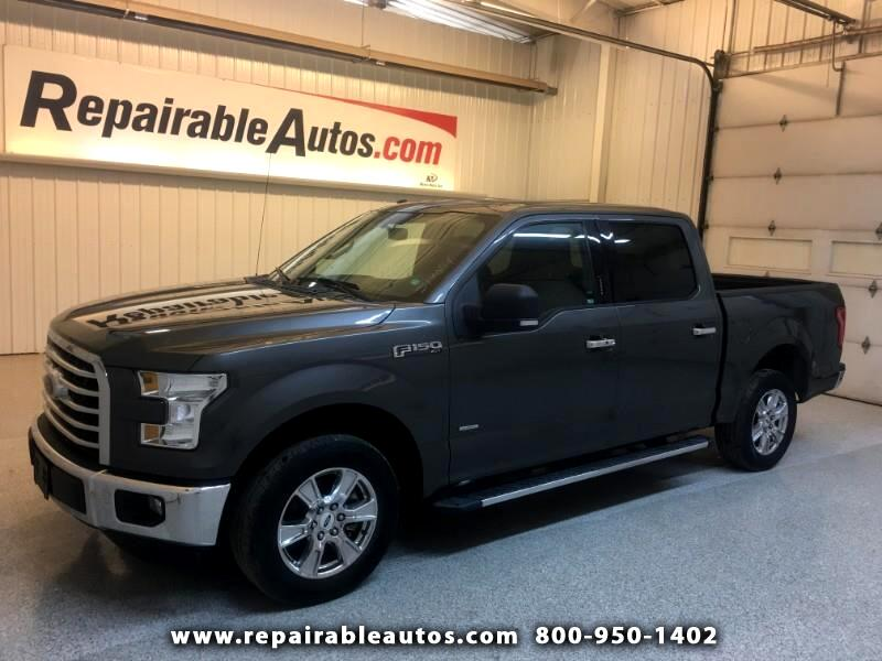 2016 Ford F-150 XLT 2WD Repairable Rear Damage