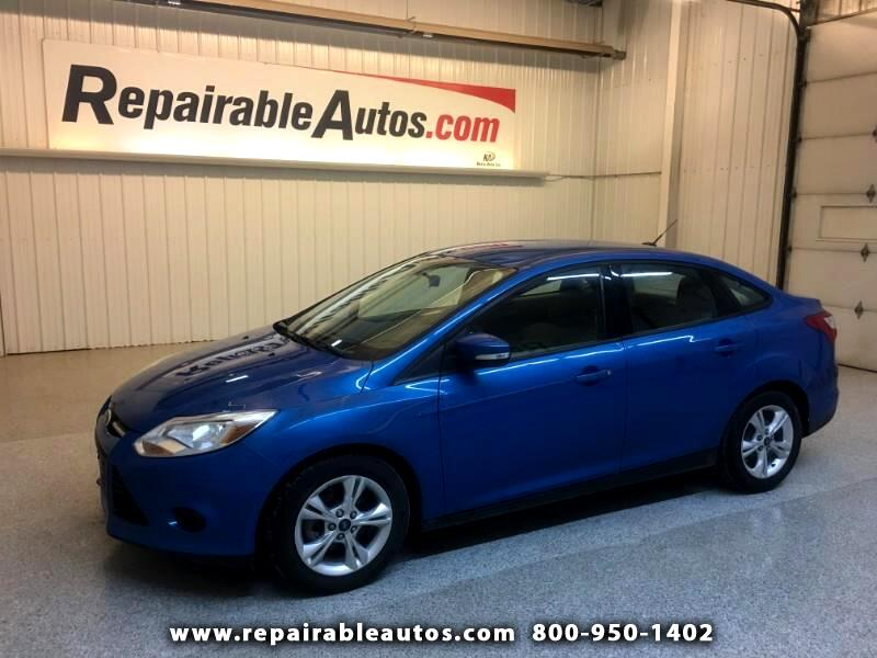 2013 Ford Focus Repairable Hail Damage