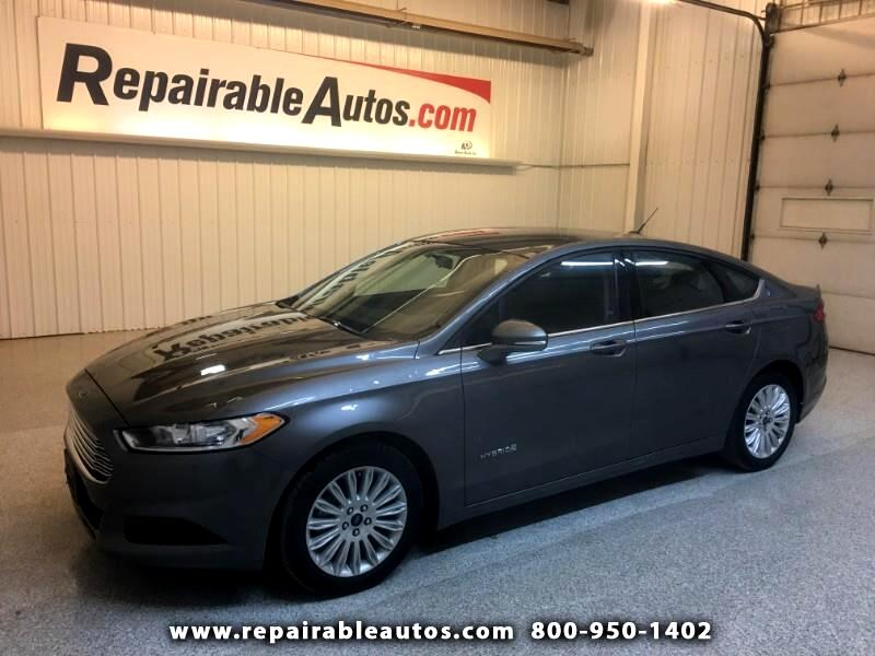 2014 Ford Fusion Hybrid SE Repairable Hail Damage