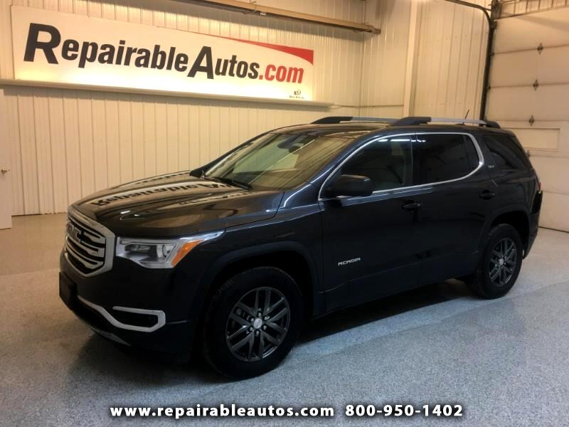 2018 GMC Acadia SLT AWD Repairable Rear Damage